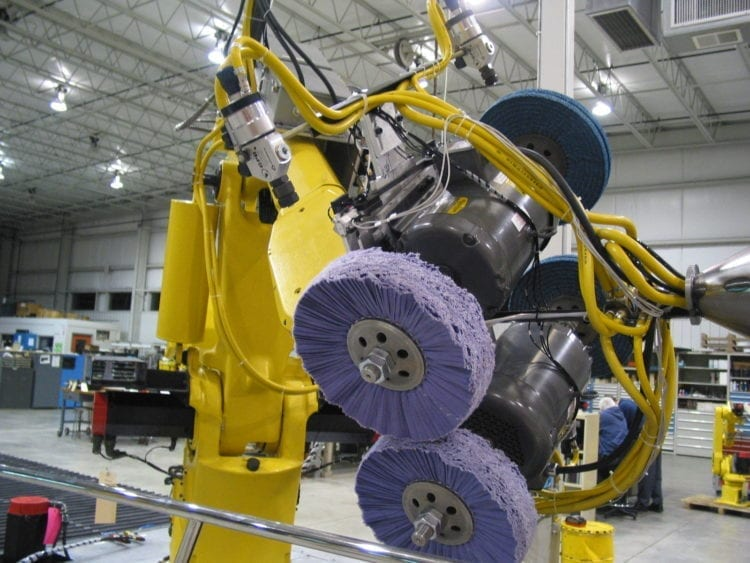 Used Fanuc Robotic Polishing Cells for Sale