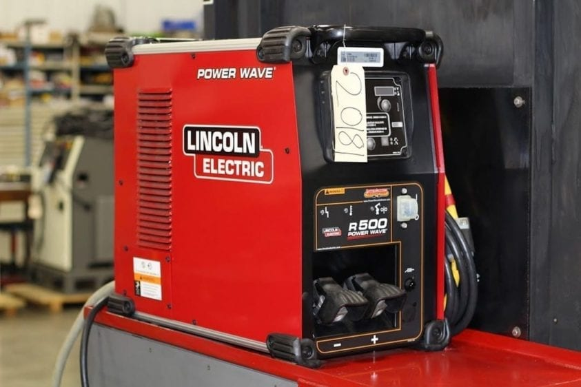 lincon welder with robot