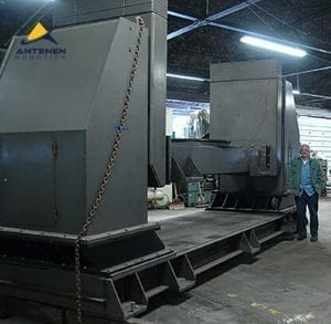 11,000 lb Drop Center Welding Positioner -Tilt & Rotate - PEMA Model 5000 CR-2