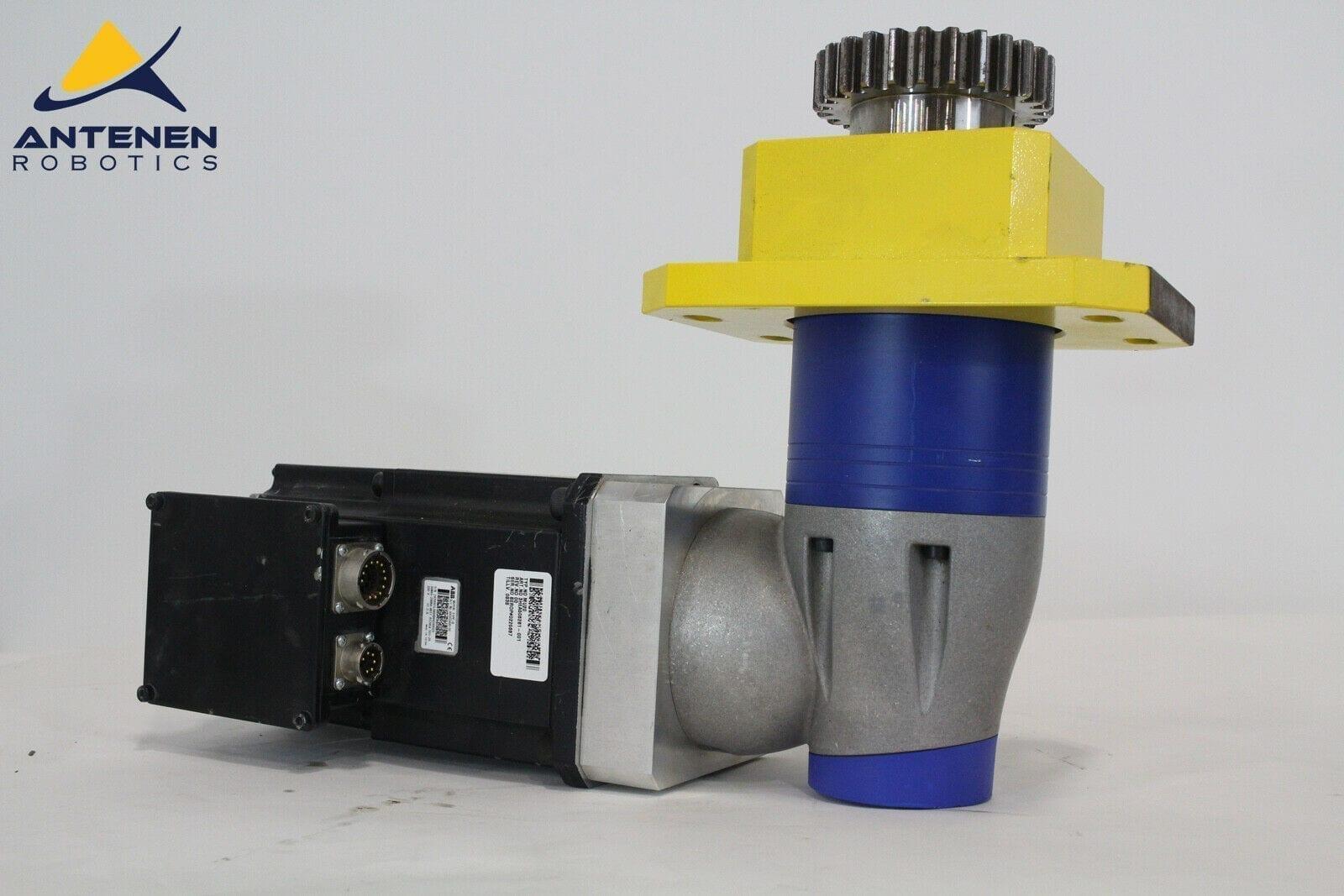 WITTENSTEIN LPK 120S-MO3-15-111 RIGHT ANGLE GEARHEAD + ABB Motor 3HEA506261-001